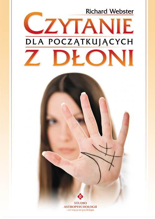 Czytanie z dłoni dla początkujących - Okładka książki