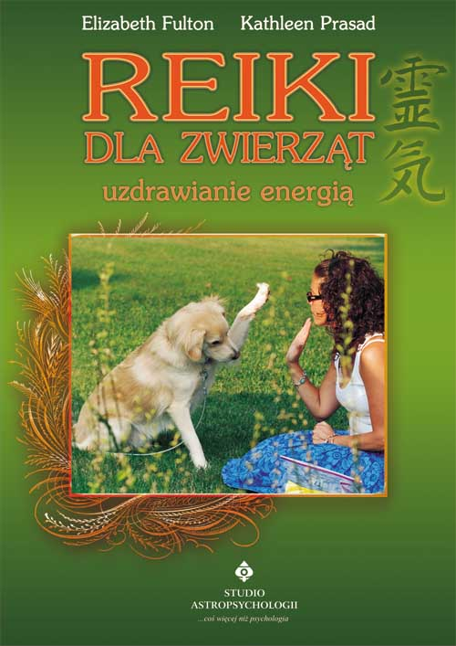 Reiki dla zwierząt - Okładka książki