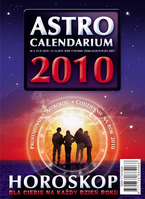 Astrocalendarium 2010 - Okładka książki