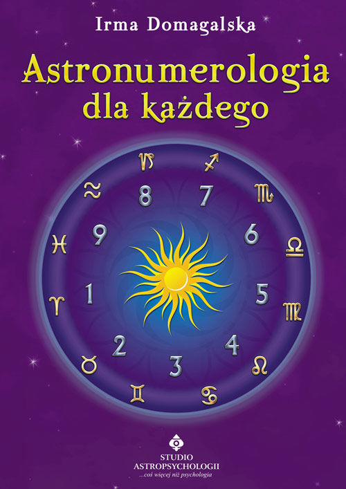 Astronumerologia dla każdego - Okładka książki