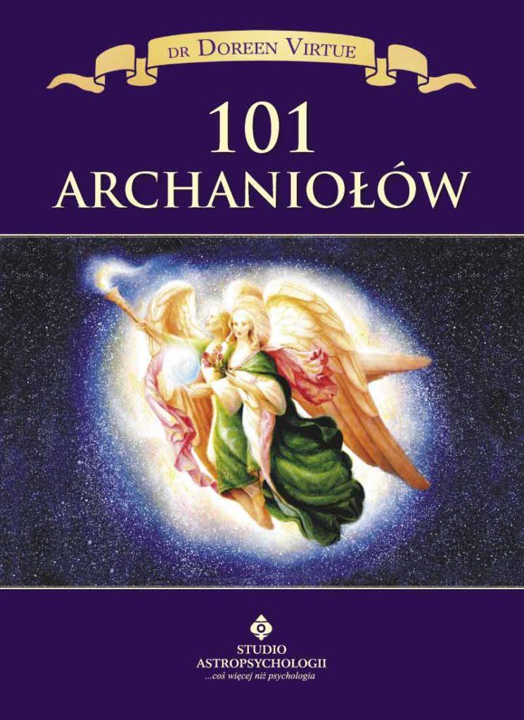 101 archaniołów - Okładka książki