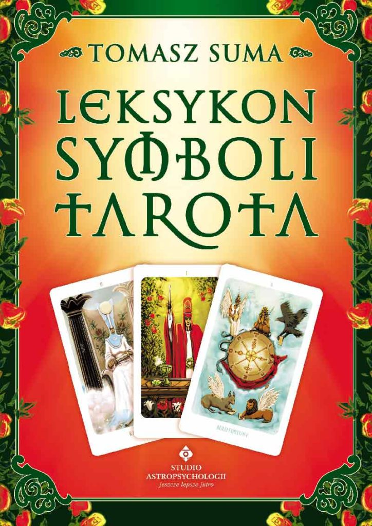 Leksykon symboli Tarota - Okładka książki