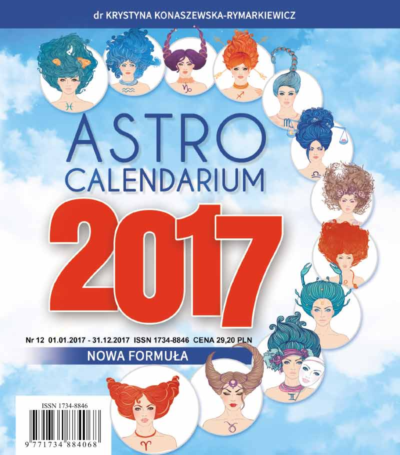 Astrocalendarium 2017 - Okładka książki