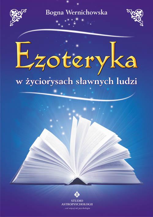 Ezoteryka w życiorysach sławnych ludzi - Okładka książki