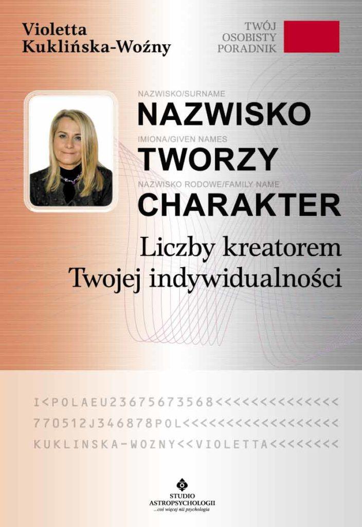 Nazwisko tworzy charakter - Okładka książki