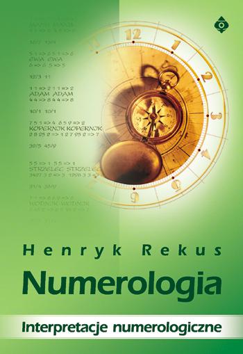 Numerologia interpretacje numerologiczne - Okładka książki