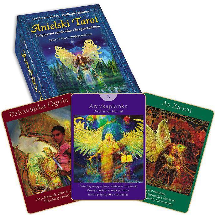 Anielski Tarot – karty + książka - Okładka książki