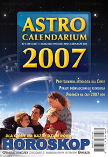 Astrocalendarium 2007 - Okładka książki