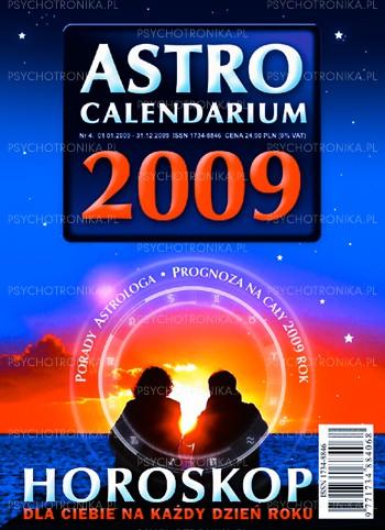 Astrocalendarium 2009 - Okładka książki