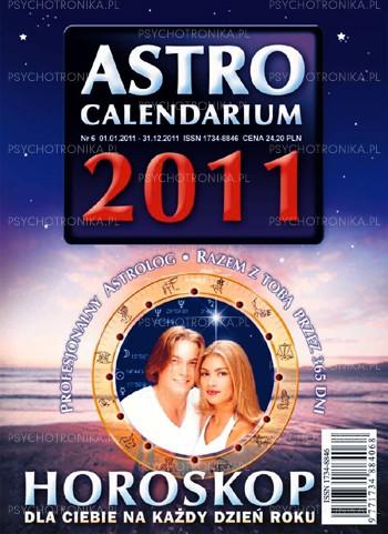 Astrocalendarium 2011 - Okładka książki