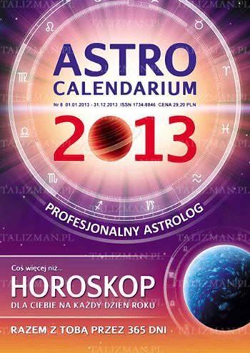 AstroCalendarium 2013 - Okładka książki