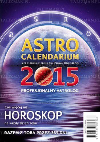 Astrocalendarium 2015 - Okładka książki