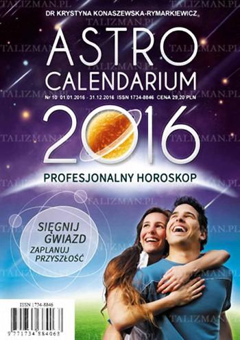 Astrocalendarium 2016 - Okładka książki