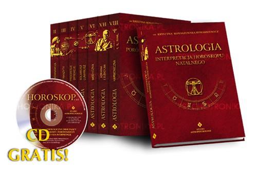 Astrologia komplet tomy I-VIII - Okładka książki
