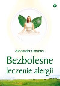 Bezbolesne leczenie alergii - Okładka książki