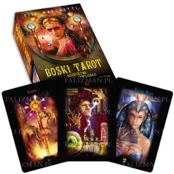 Boski tarot – książka + karty - Okładka książki
