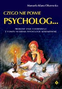 Czego nie powie psycholog - Okładka książki