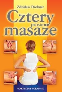 Cztery proste masaże - Okładka książki