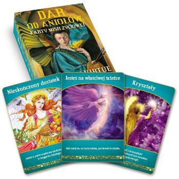 Dar od aniołów – karty misji życiowej - Okładka książki