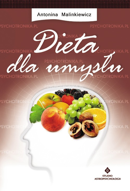 Dieta dla umysłu - Okładka książki