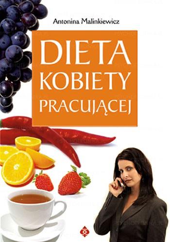 Dieta kobiety pracującej - Okładka książki