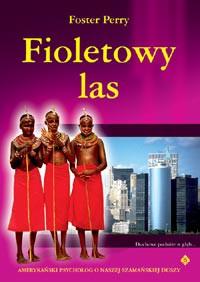 Fioletowy las - Okładka książki