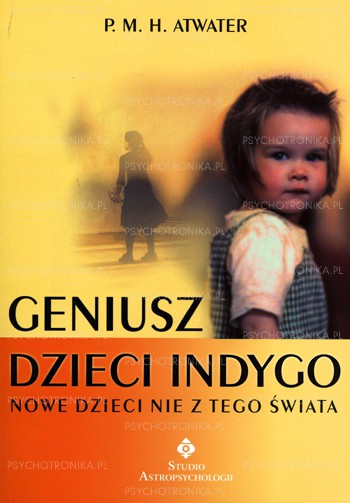 Geniusz dzieci indygo - Okładka książki