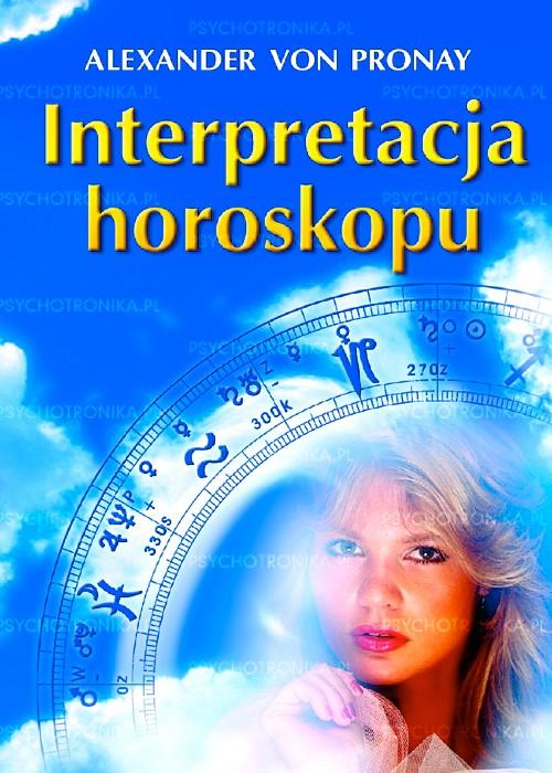 Interpretacja horoskopu - Okładka książki