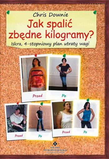 Jak spalić zbędne kilogramy? Iskra 4-stopniowy plan utraty wagi - Okładka książki