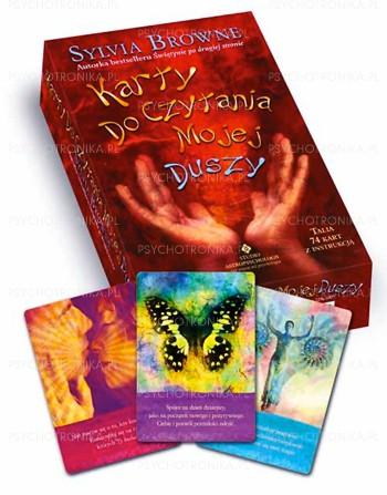 Karty do czytania mojej duszy - Okładka książki