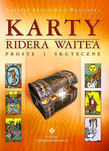 Karty Ridera Waitea proste i skuteczne - Okładka książki