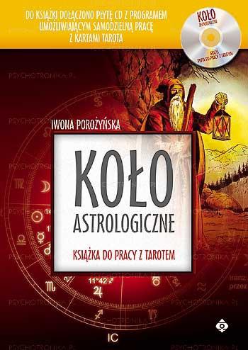 Koło astrologiczne. Książka do pracy z Tarotem - Okładka książki