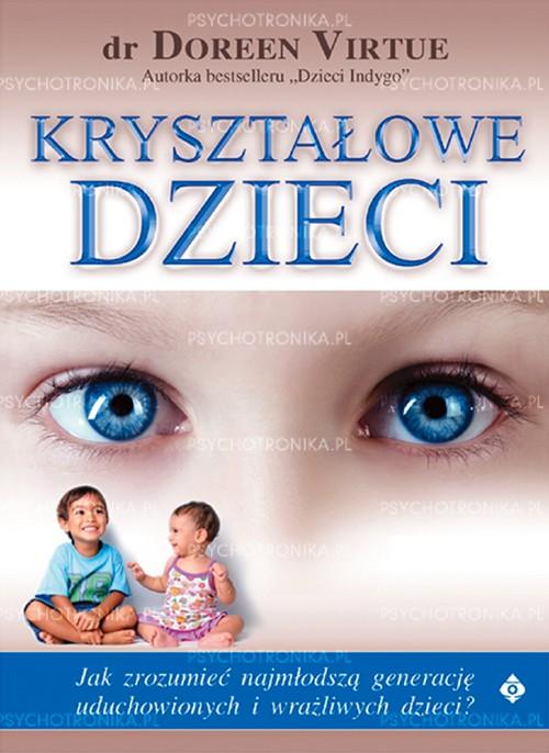 Kryształowe dzieci - Okładka książki