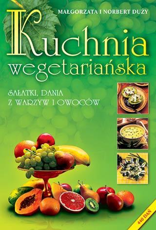 Kuchnia wegetariańska - Okładka książki