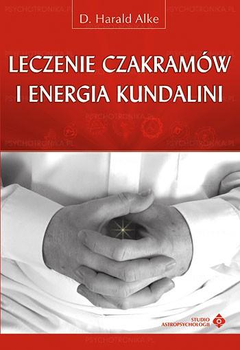 Leczenie czakramów i energia kundalini - Okładka książki