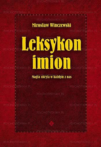 Leksykon imion - Okładka książki
