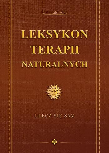 Leksykon terapii naturalnych - Okładka książki