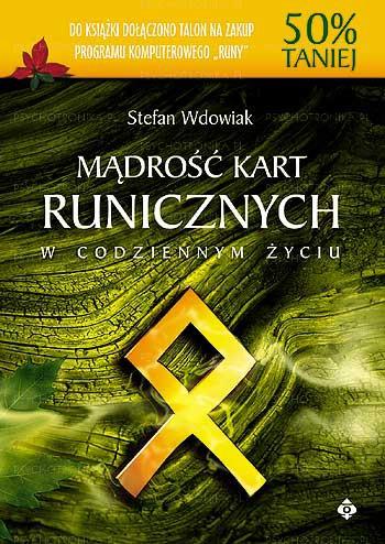 Mądrość kart runicznych - Okładka książki