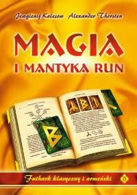 Magia i mantyka run - Okładka książki