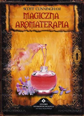 Magiczna aromaterapia - Okładka książki