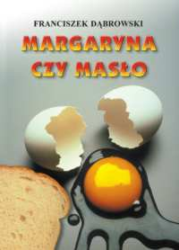 Margaryna czy masło - Okładka książki