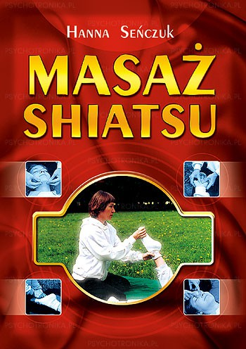 Masaż shiatsu - Okładka książki