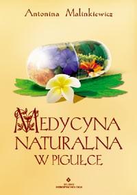 Medycyna naturalna w pigułce - Okładka książki