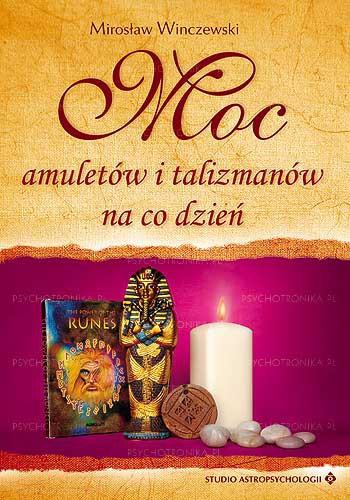 Moc amuletów i talizmanów - Okładka książki