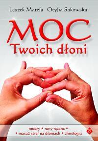 Moc Twoich dłoni - Okładka książki