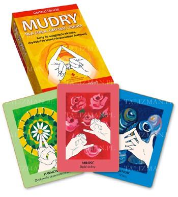 Mudry dla ciała umysłu i ducha – karty + książka - Okładka książki
