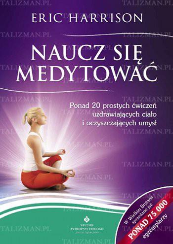Naucz się medytować - Okładka książki