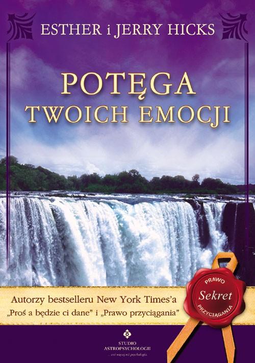 Potęga twoich emocji - Okładka książki