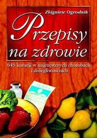 Przepisy na zdrowie - Okładka książki