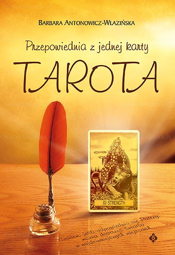 Przepowiednia z jednej karty Tarota - Okładka książki